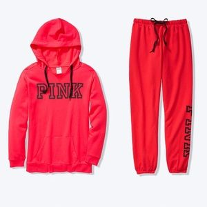 Pink set large for women